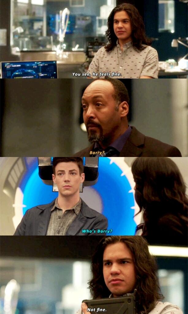 I love Cisco's reactions 😂