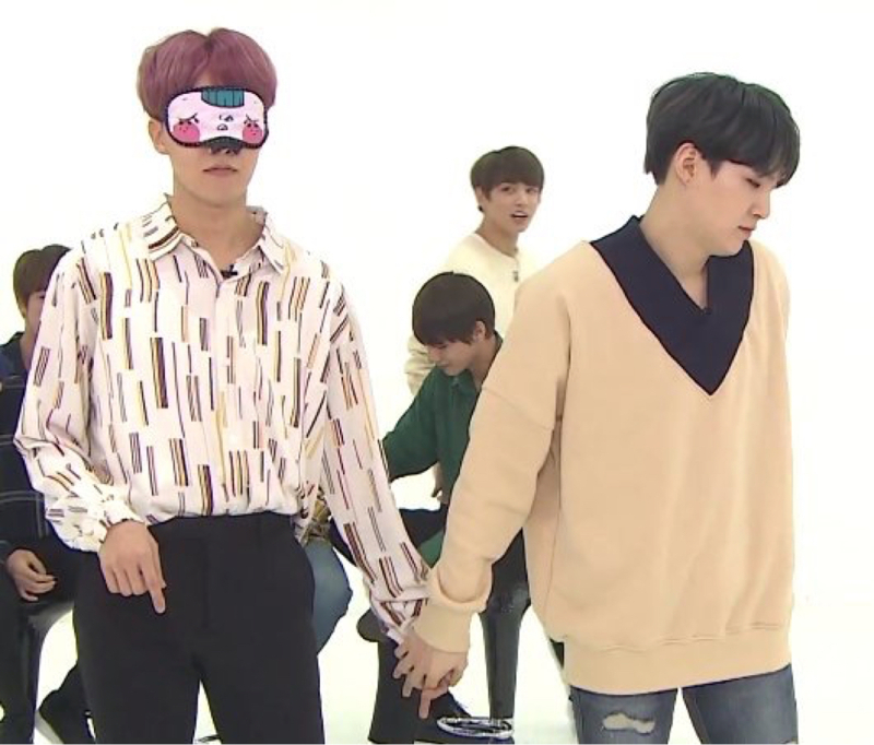 Soul partners holding hands