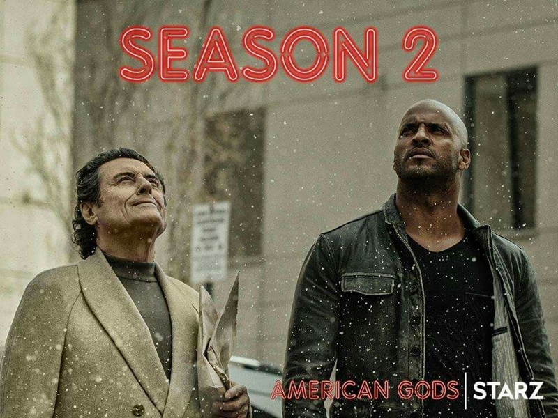 American Gods has been renewed for Season 2!
