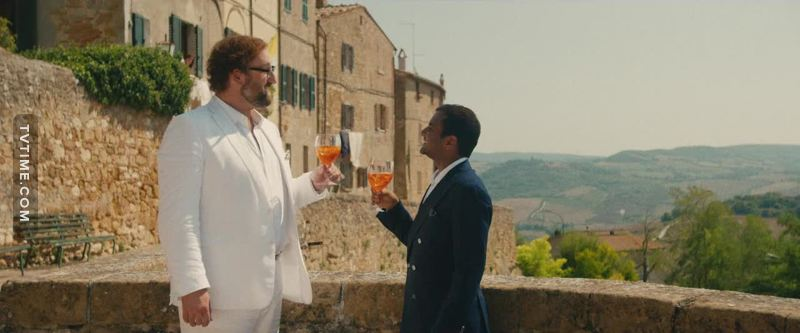 When I heard about the Italian location of season 2 I was scared about going to see a lot of stereotypes about Italians.  I have to say Aziz went very well in this first two episodes, it' very funny to see my culture through the eyes of someone else from abroad.  He totally got me when they had a spritz!