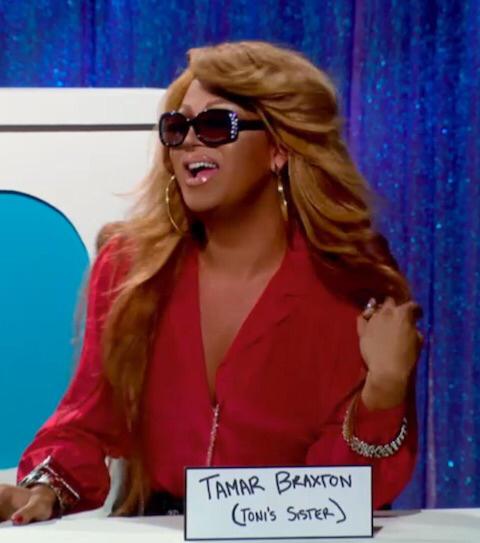 Tamar Braxton was beautiful today! Love her!!!
