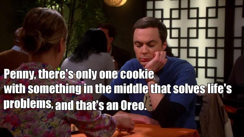 Sheldon is me, I am Sheldon