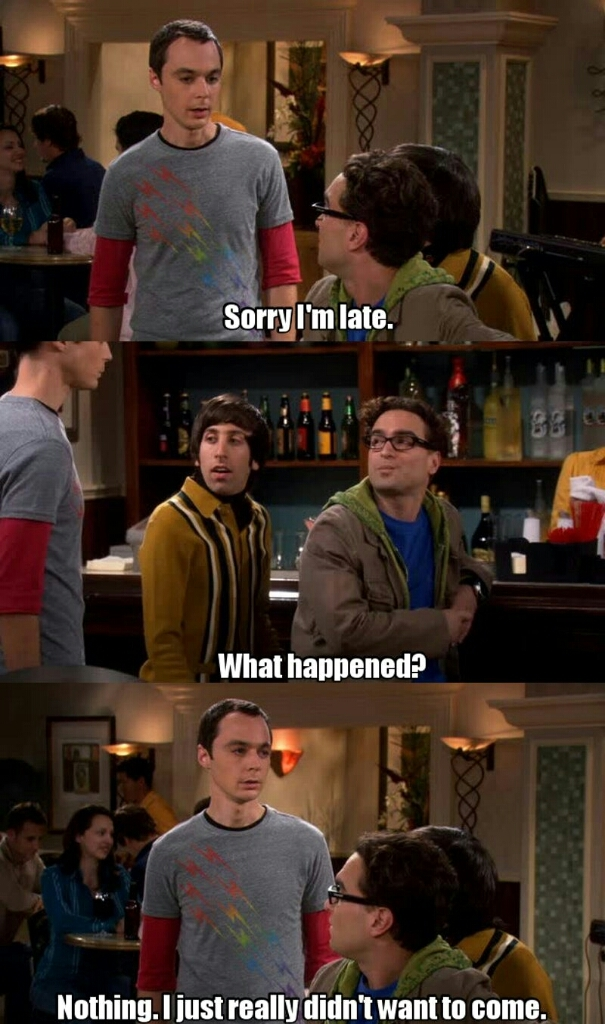 O Sheldon sou eu 😂