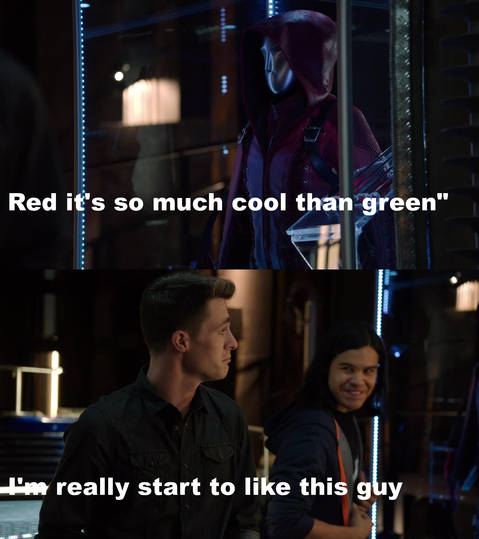 Ha ha Cisco is hilarious !
