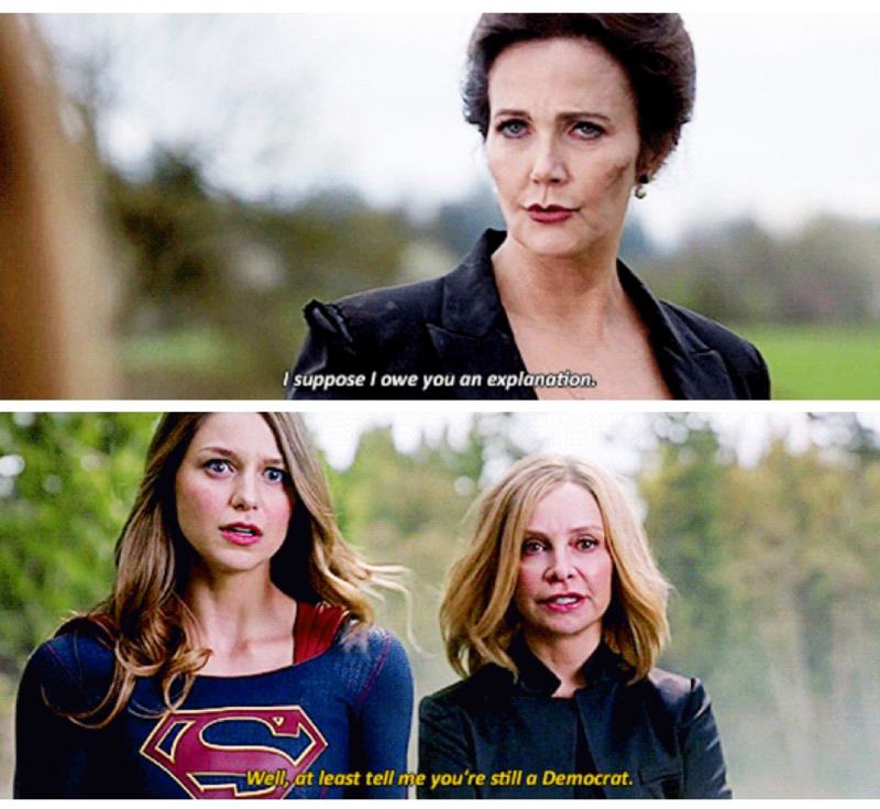Finally our Queen Cat Grant is back! She had so many great lines throughout the episode, and her speech was amazing!   I've missed her so much!