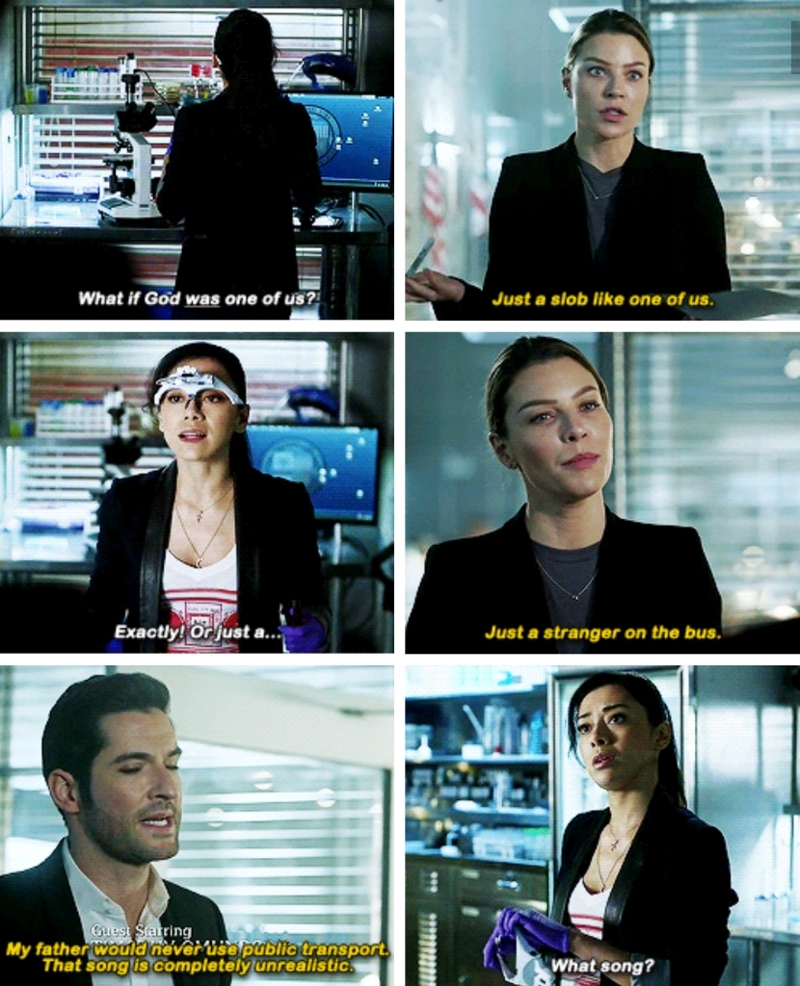 Hands down my favorite Lucifer episode! So funny!