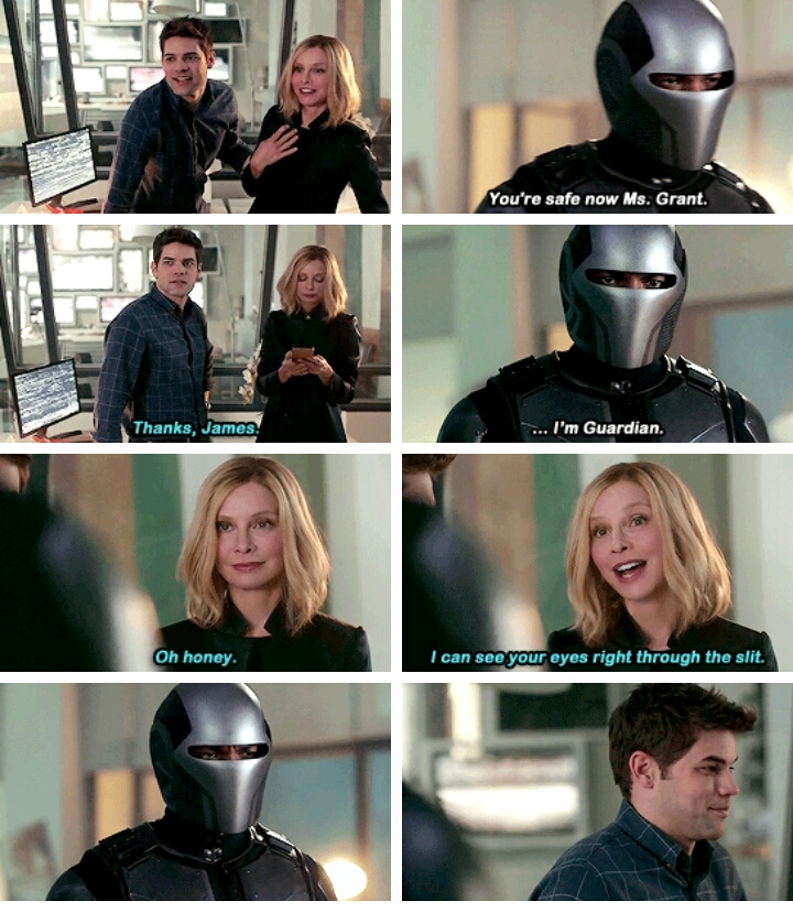 She knows Kara is Supergirl RIGHT???   I LOVE CAT GRANT SHE'S THE BEST!!!😍😍