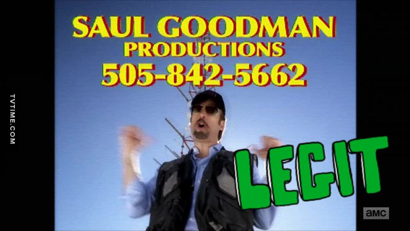 OMG the first Saul Goodman ad... I almost died!