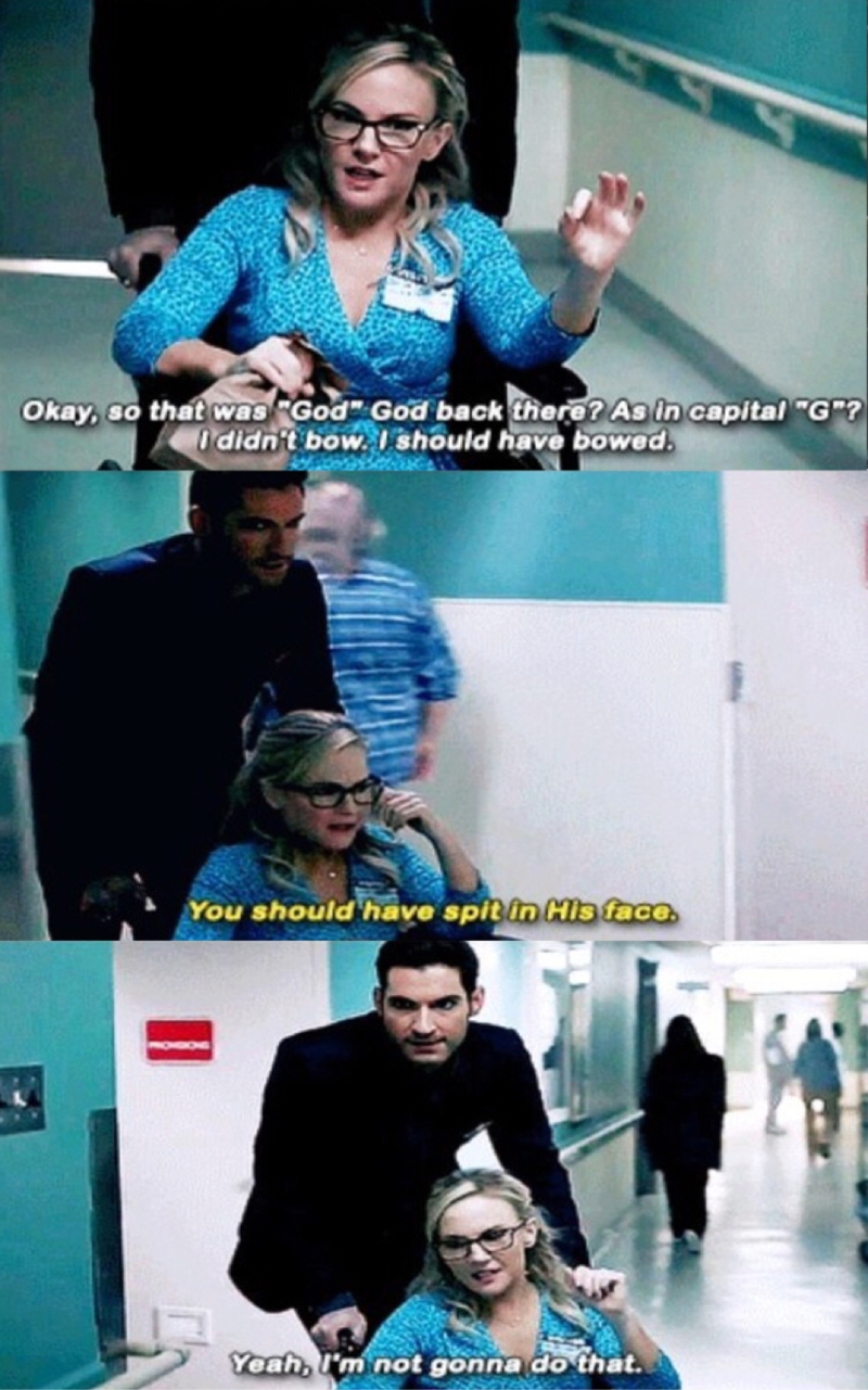 Linda and Lucifer in this episode made me laugh.
