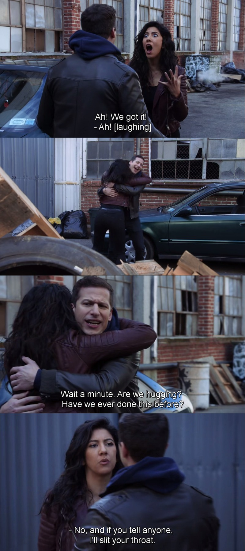 Jake and Rosa have the best #FriendshipGoals!!