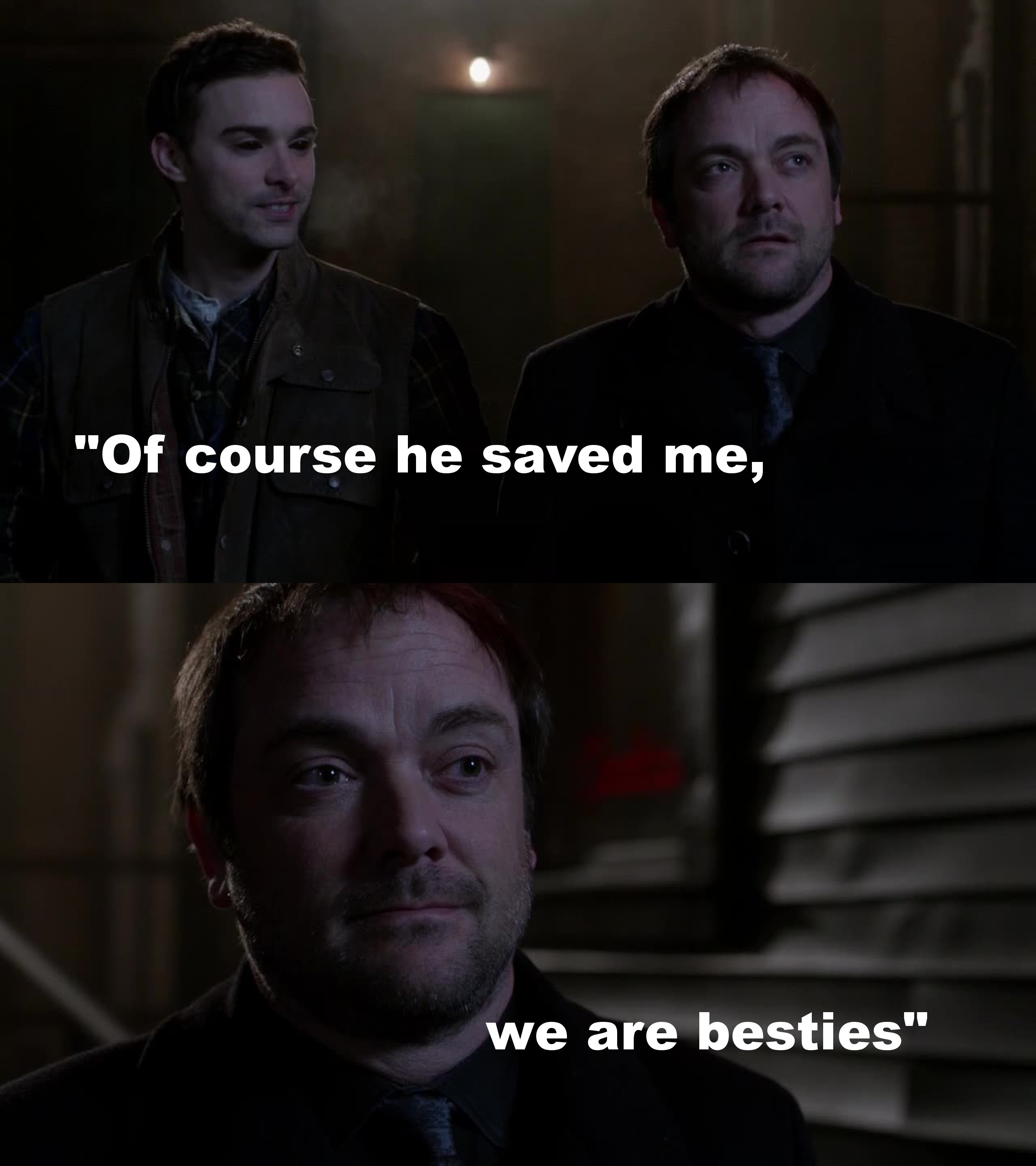 Man, loved that part and laughed so hard! They have the most freaking weird relation!! ????????
