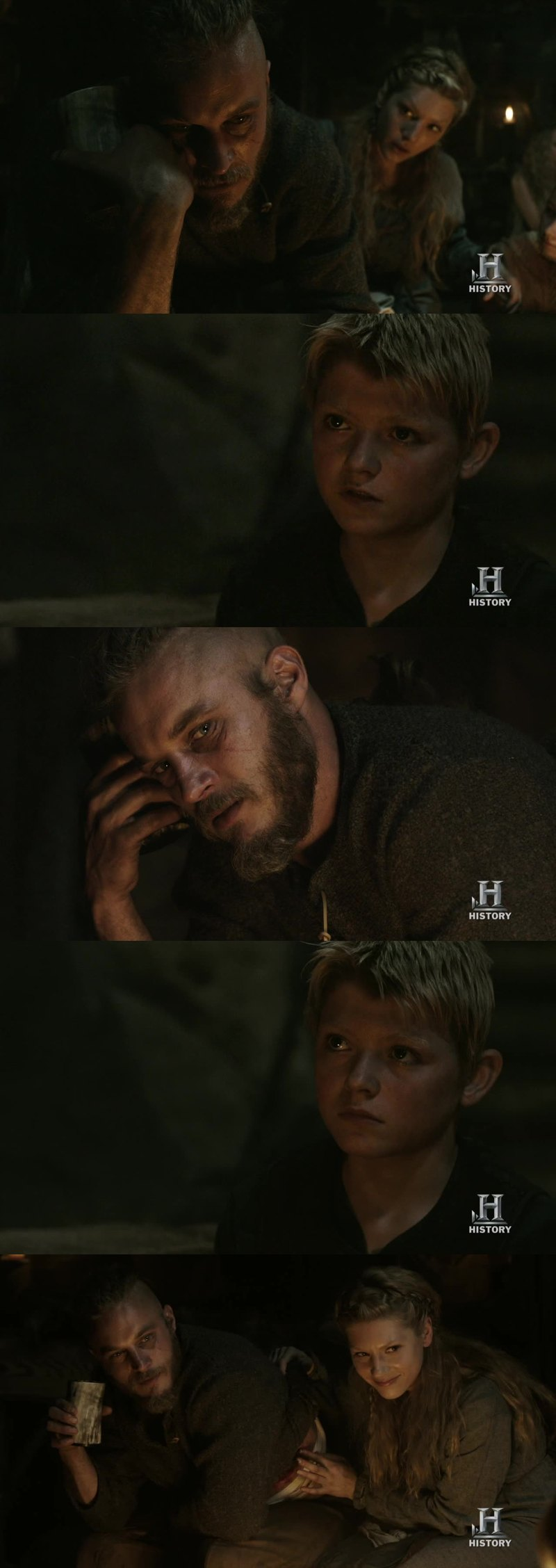 the first thing i love about ragnar and lagertha is the loyalty. they care so much about their family.