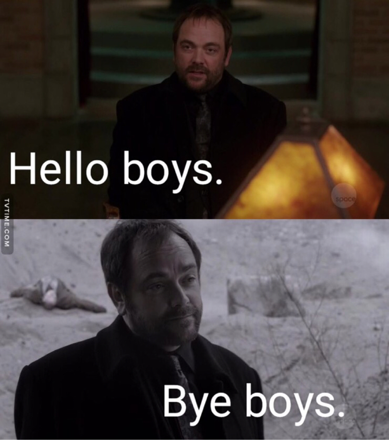 As much I love Cas BUT CROWLEY 😭😭💔