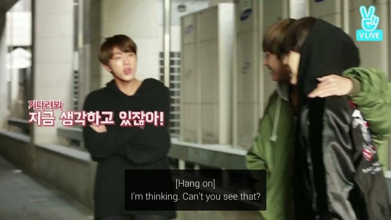Poor Jin 😂💓