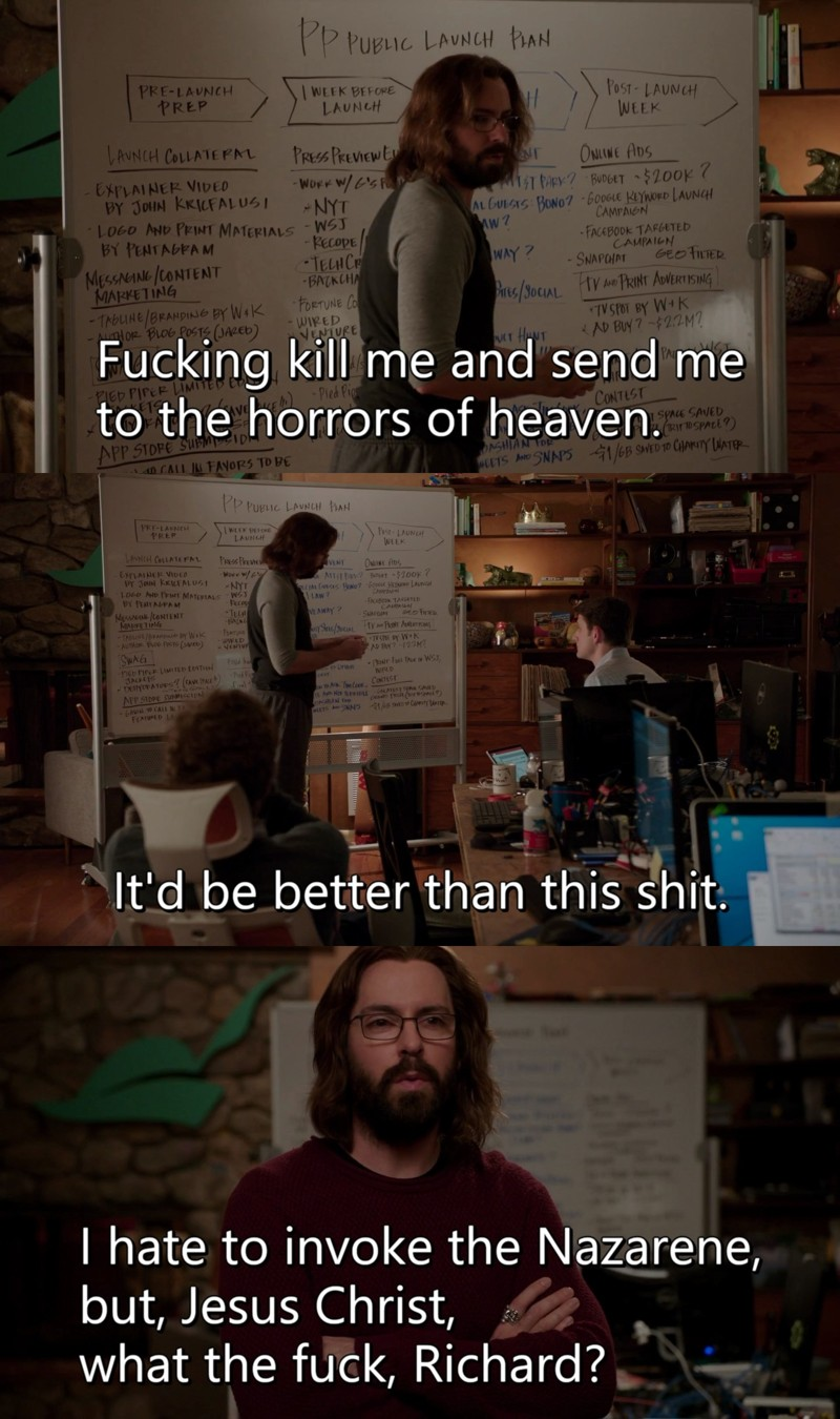 Gilfoyle is the best.