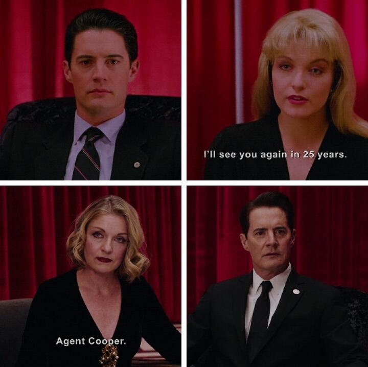 Hello agent Cooper.