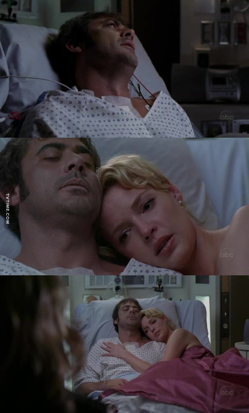 I watched this episode in 2009 and I come back here in 2017 to say that NOTHING in TV broke my heart more than this scene.💔 Denny Duquette💘💘