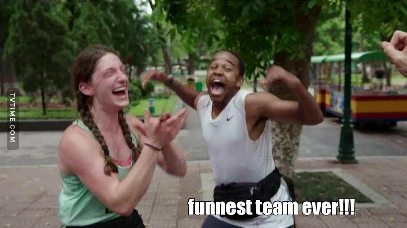 NOOOO!!!! Not Team Fun!!!!