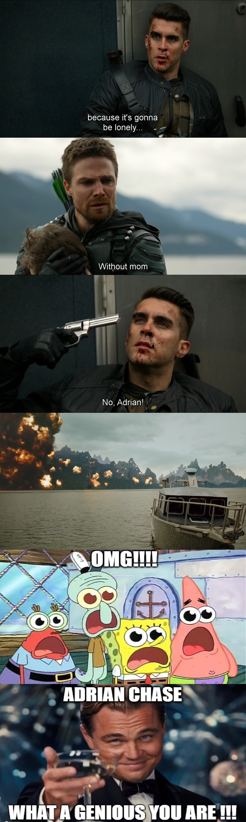 BEST SEASON FINALE OF ARROW EVER!!!!
