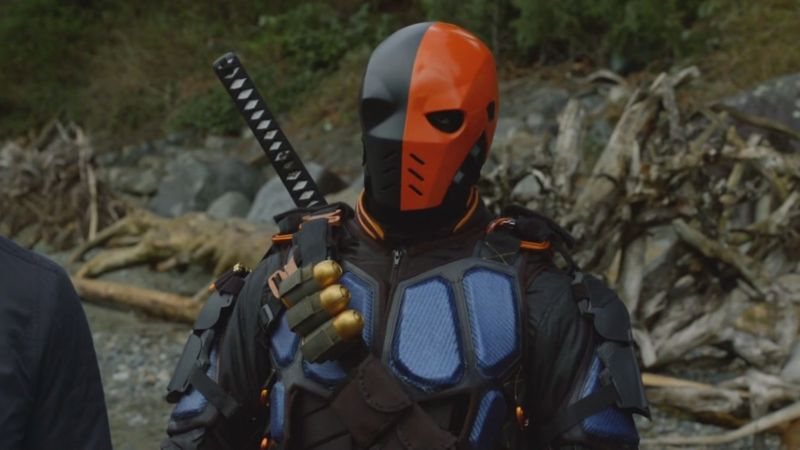 Soooooooo awesome to have Deathstroke back... as a good guy!
