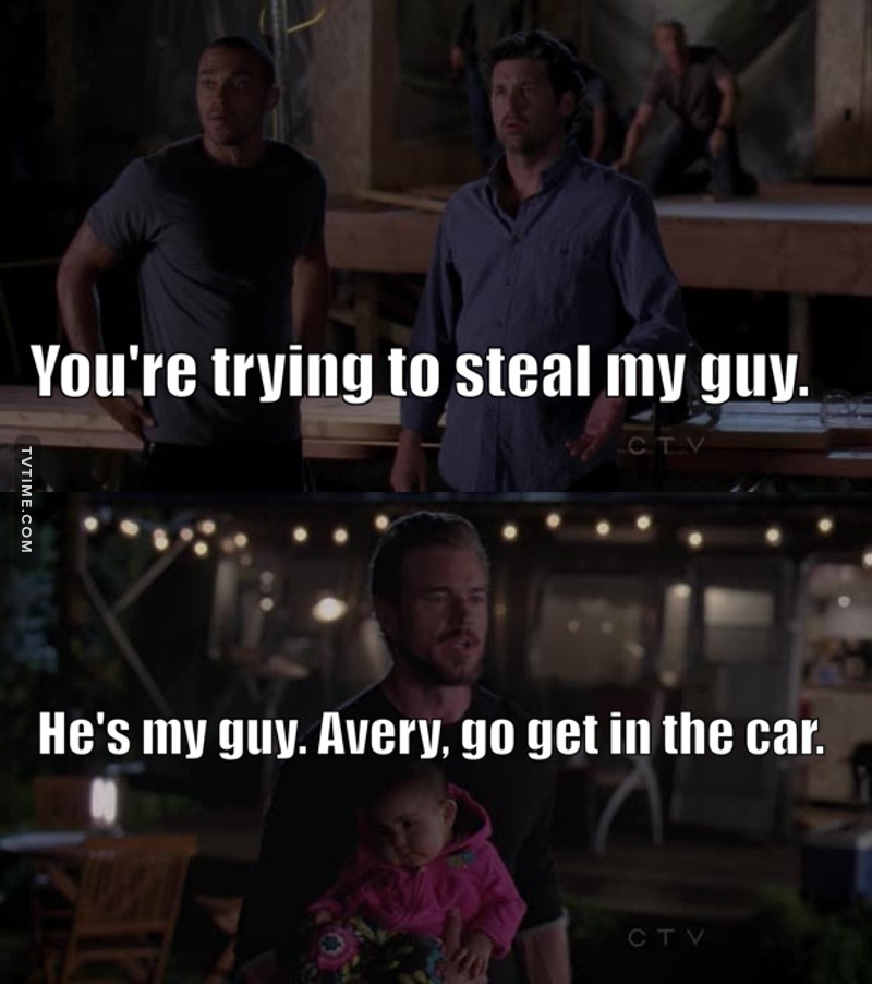 Mark was so cute in this scene. He truly believes that Avery has a bright future in plastics (: