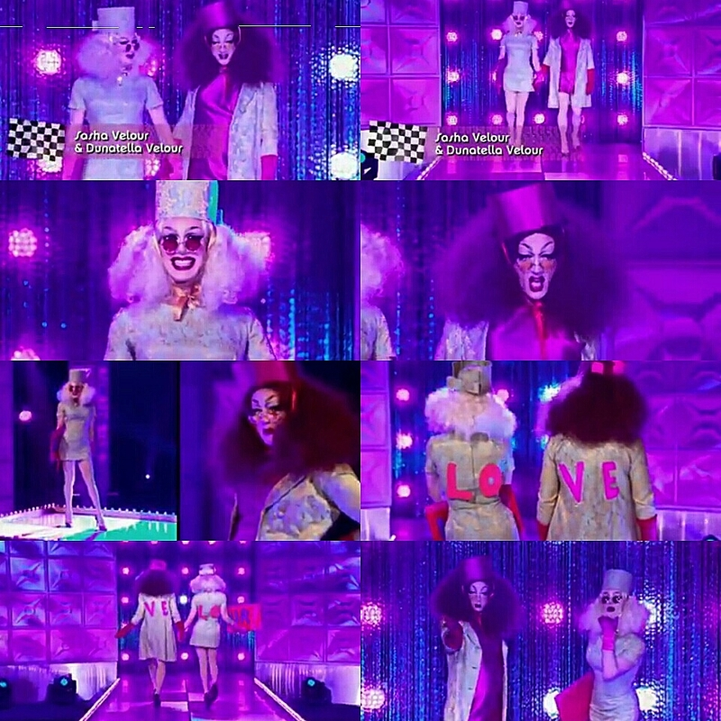 I don't care that Trinity won but for me, Sasha won this challenge without a doubt. Everything was AMAZING! 👏💗