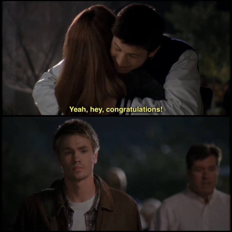 Lucas knows very well Haley and what she feels