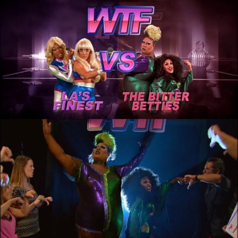 Melhor time! Hahah acho que elas sim deveriam ter ganho. E The Bitter Betties foram as melhores, passei mal de rir aqui com a Latrice.