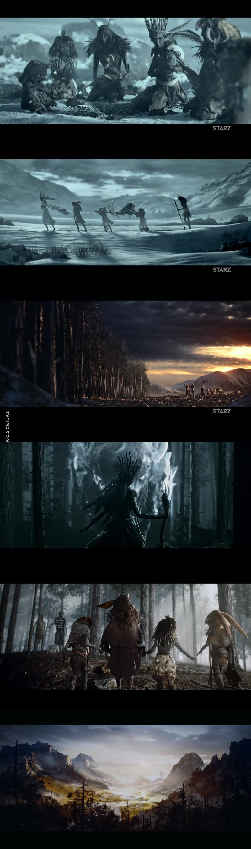 This opening scene was magnificent.