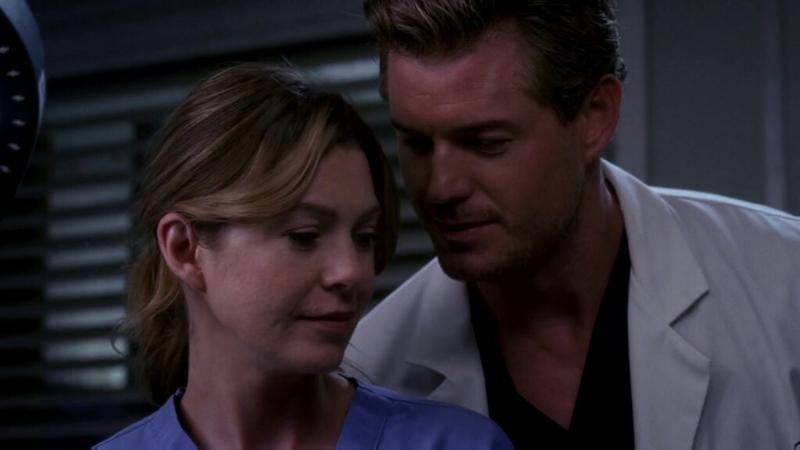 Mark che dice a Meredith, che Derek e Rose non dureranno... ecco un altro fan dei #Merder 😂