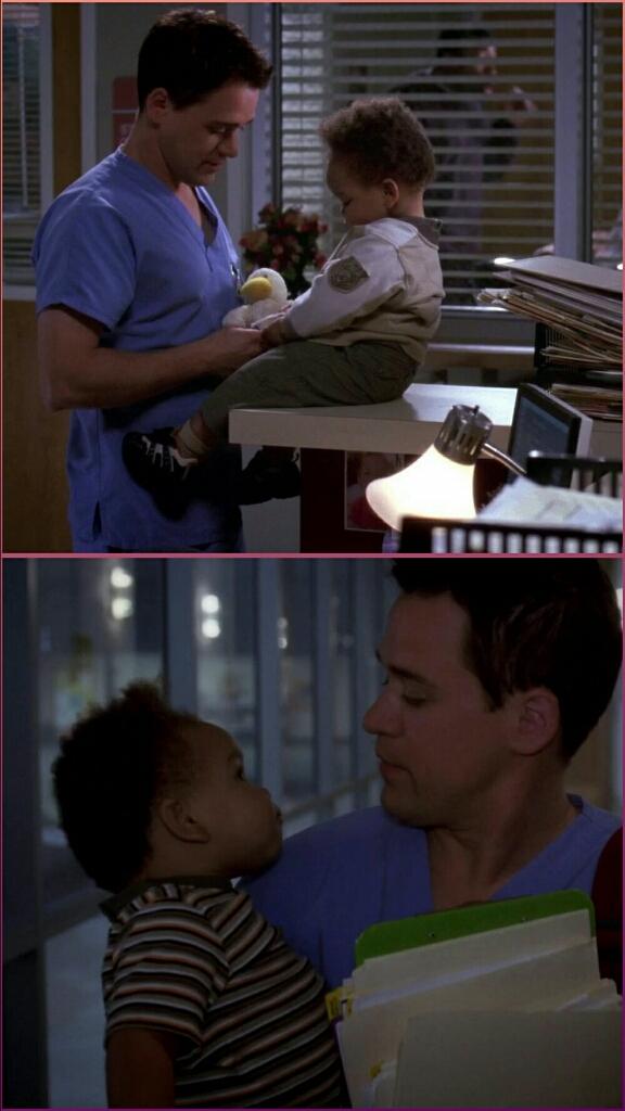Ma George con il piccolo Tuck? Che amori 😍😍