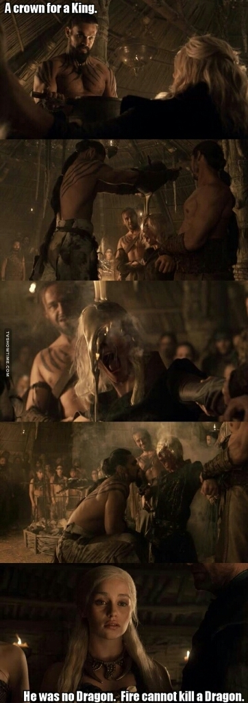 Best scene everrr!! Thank you Khal 😍😍.