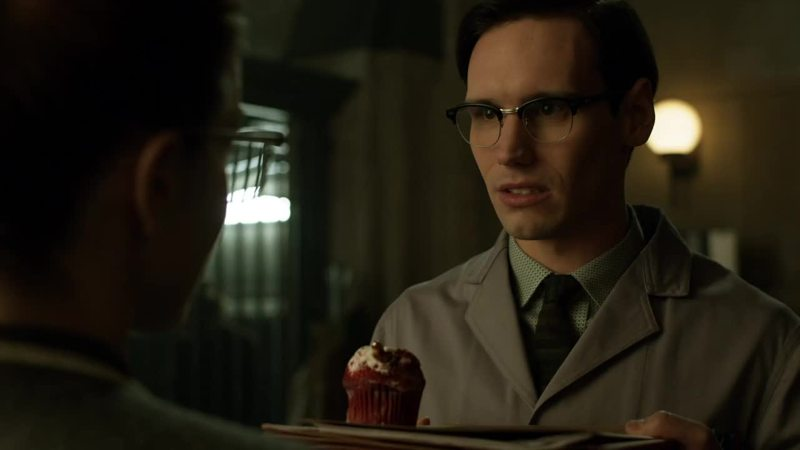 Edward: The cupcake is sweet, the bullet is deadly: a beautiful woman's a dangerous thing.