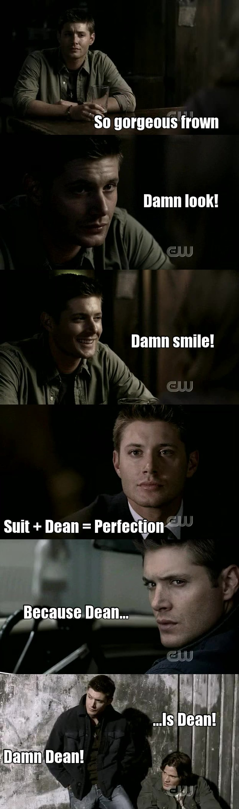 And my Dean's moments... 😊