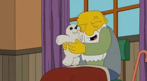 Me lembrei desse ep de Simpsons ❤