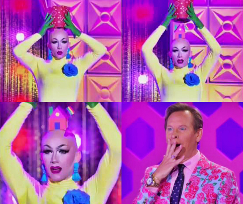 Iconic moment. I love Sasha Velour very much! Queen stays queen, slaying every single time. 💖