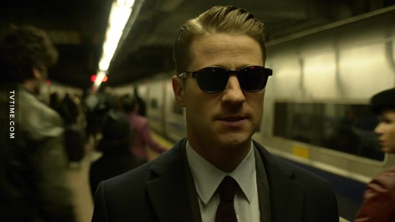 Here is the real James Gordon, aka Mr. Smith, ready for taking the matrix