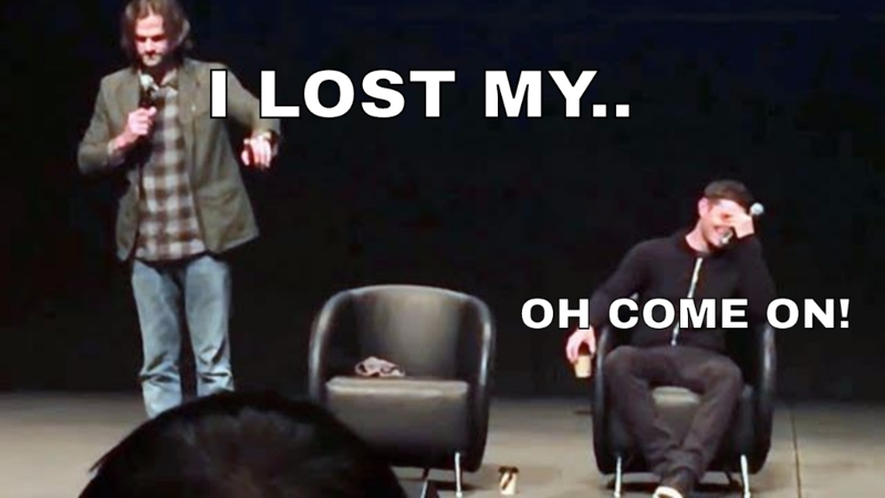 And when Jared also lost his shoe  😂😂