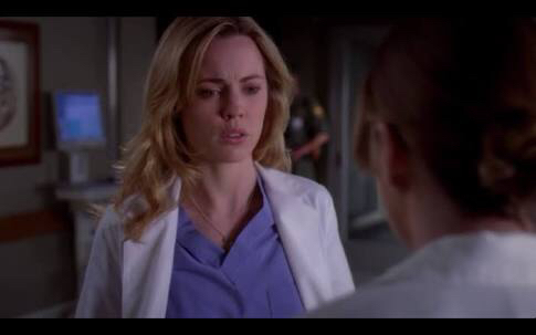 I hate her! I hated her since her first appearance...  She wants to cheat to be a doctor?! Come on! You can't play with people's life!  Sadie goes way too late!