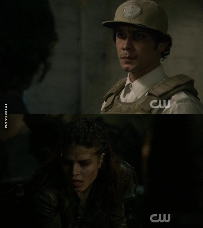 Octavia and Bellamy were really great! They both helped everyone, I have no words, really! ❤👏👏