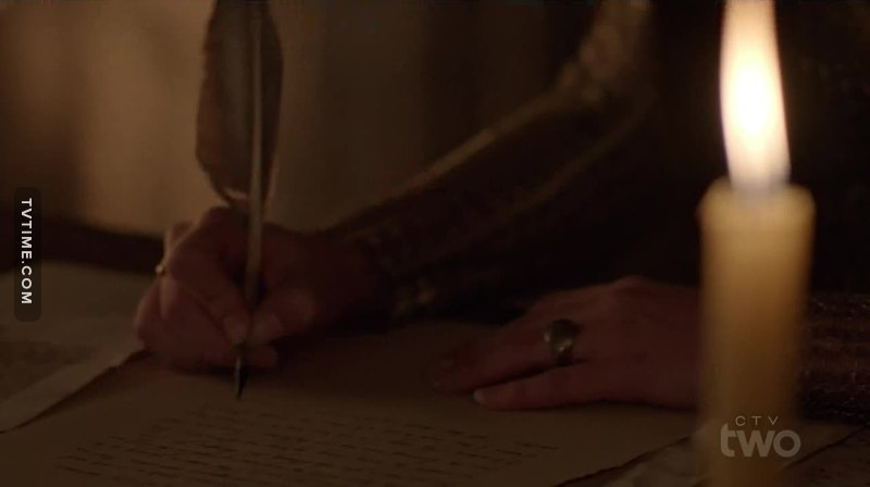 Mary's letter to Elizabeth is the best thing of this season <3 <3