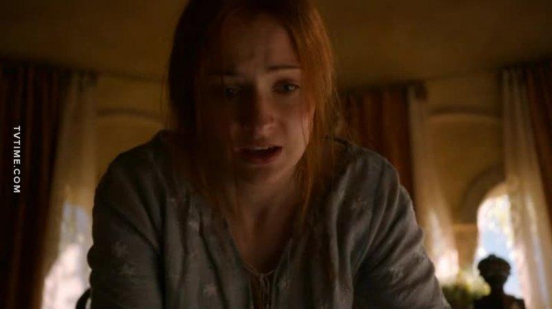 Poor Sansa. She's just a traumatized kid.