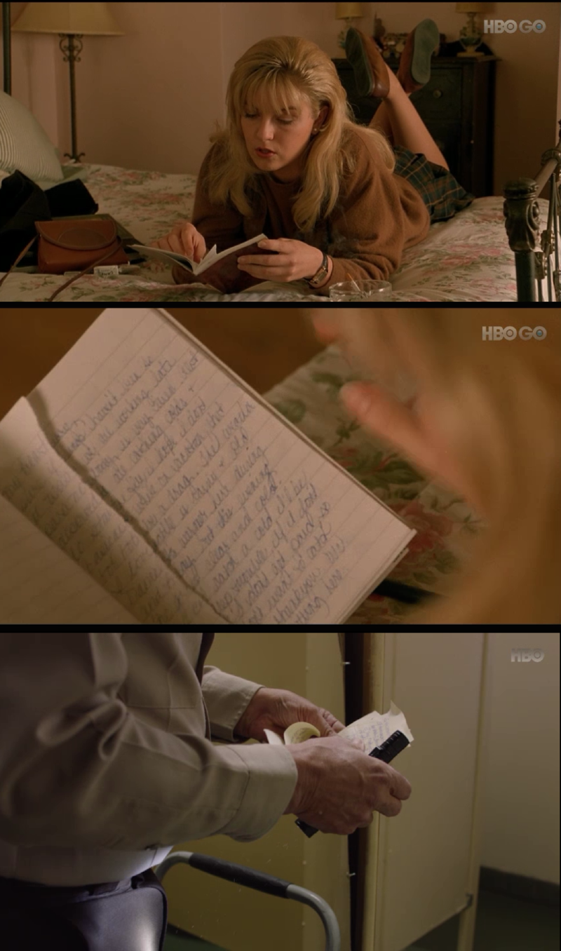 Could this be the missing pages of Laura's diary?
