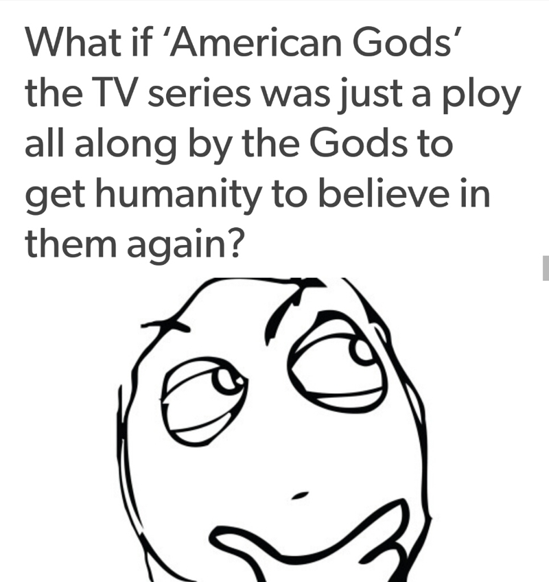 That is a nice theory