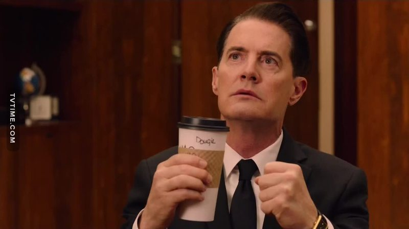 """""""You have to wake up,"""" The One-Armed Man urges Dale Cooper. """"Wake up. Don't die. Don't die. Don't die."""" It's so close. Can't you almost feel it? Dale Cooper is coming back. It's torturously slow, but it's happening. He's got his coffee, he's got his case files, he's got his smart black suit. Best of all, he's got that supernatural insight. And he's starting to wake up to who he is."""
