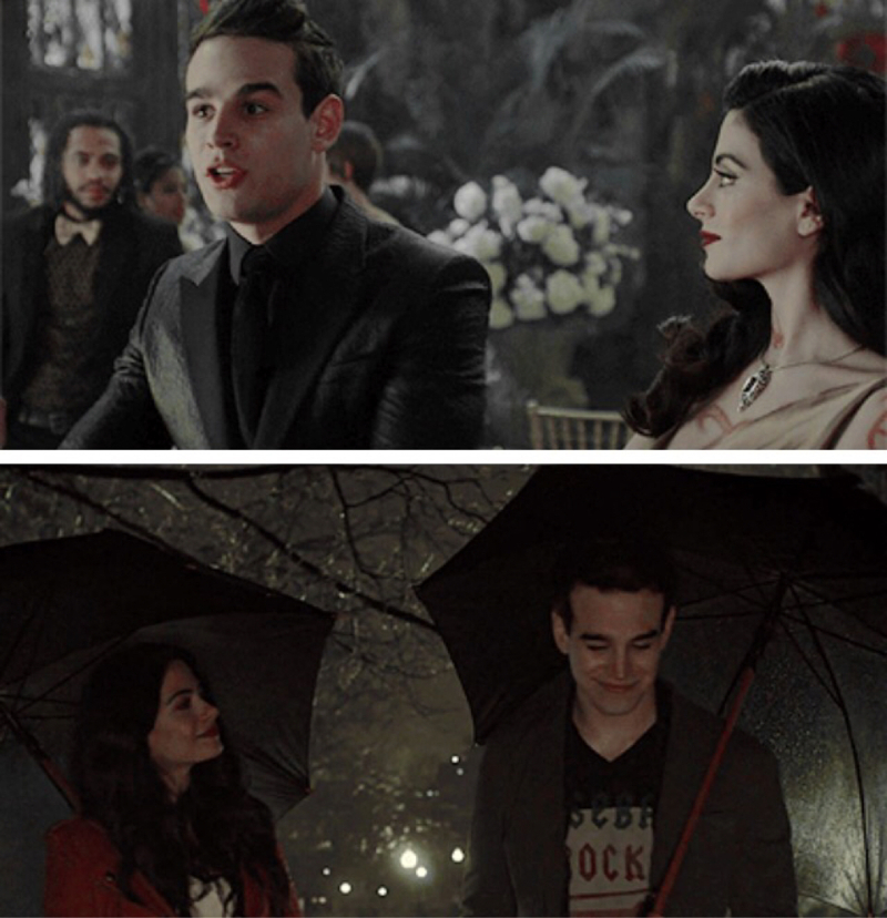 1x12//2x12  the way izzy looks at simon when he's not looking 😍