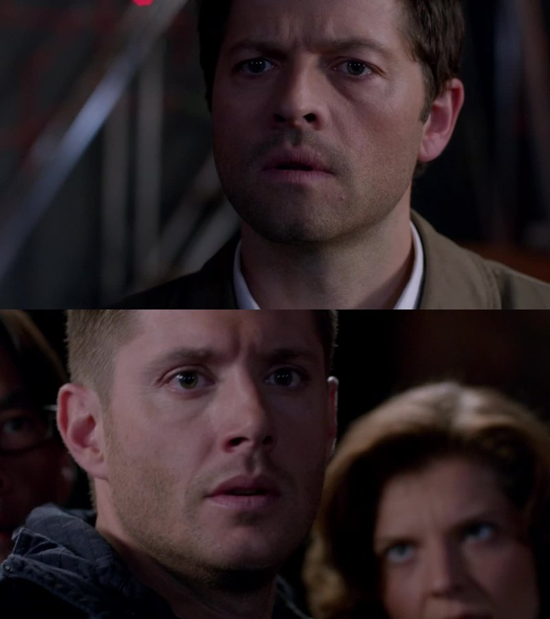 "Castiel is in love with ""humanity"""