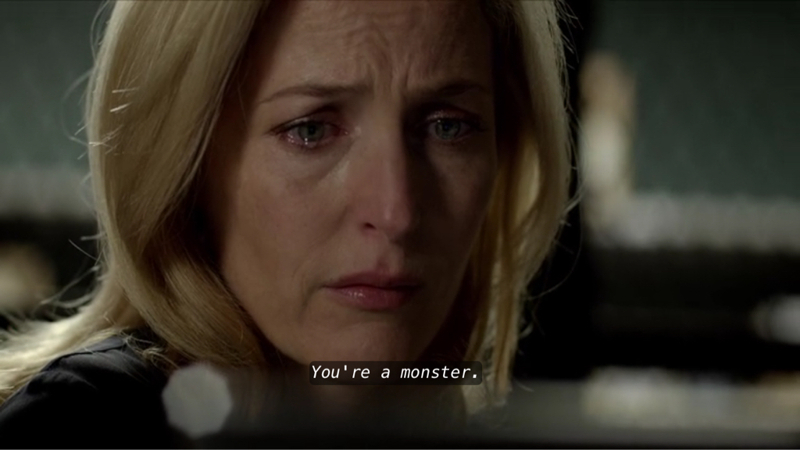 She shocked me in this scene, She showed a very deep emotion  I really liked her.