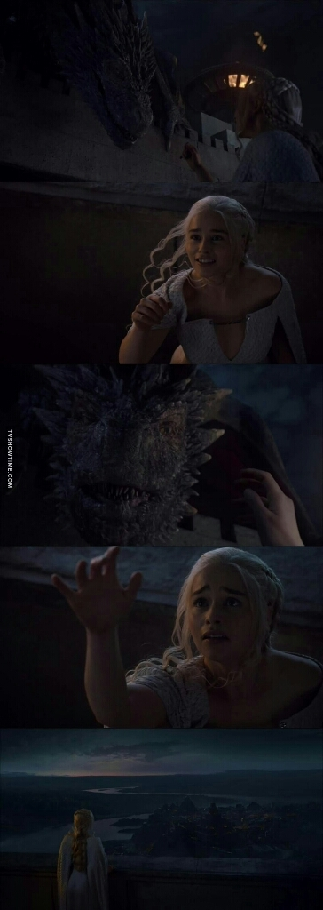 That was pretty sad 😢😢. She needs her dragons and Jorah too!! 😭💔