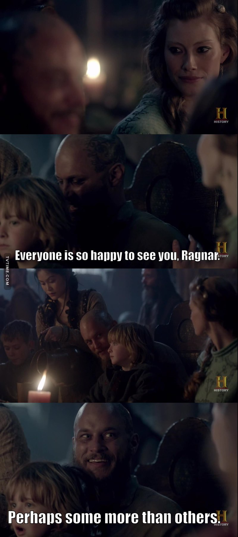 Ragnar knows a bullshitter when he sees one!